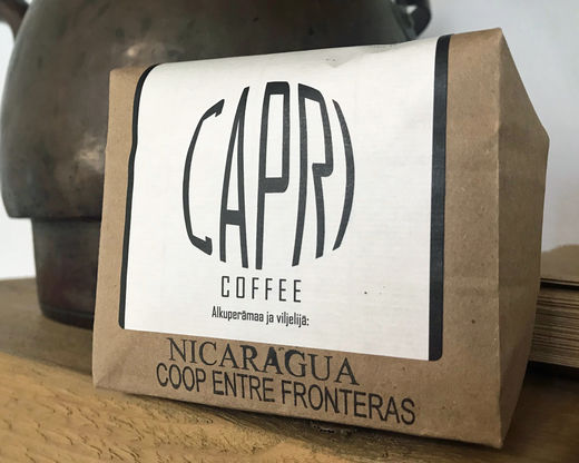 Nicaragua, Coop Entre Fronteras vaalea paahto papuina 350g